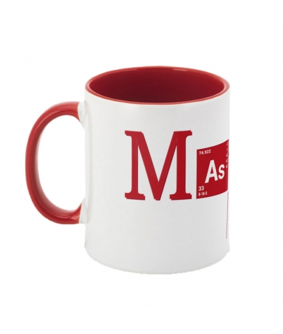 Mug bicolore - Master Cac - Red