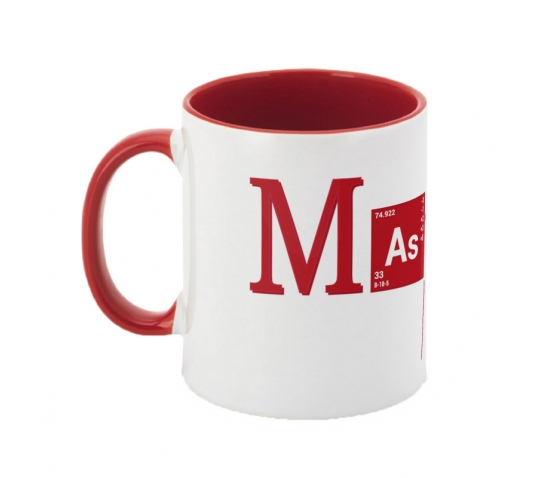 Mug Bicolore-Red
