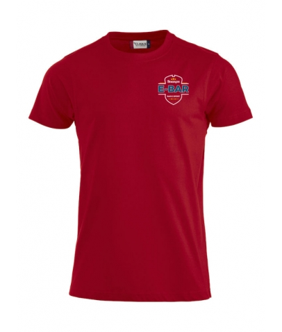 T-Shirt E-Bar Homme - Rouge