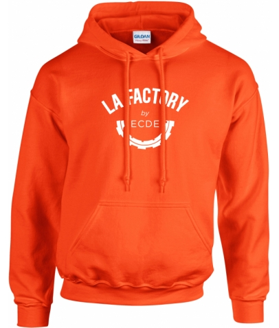 HOODY UNISEXE CLASSICS - ORANGE