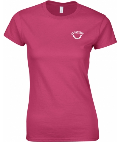 T-SHIRT FEMME SOFTSTYLE - HELICONIA