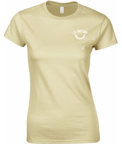 T-SHIRT FEMME SOFTSTYLE - SAND