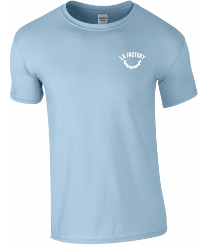 T-SHIRT HOMME SOFTSTYLE - LIGHT BLUE