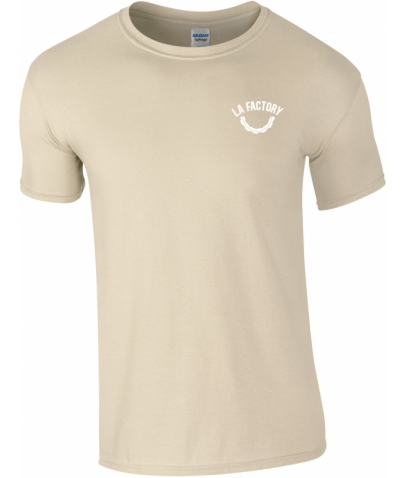 T-SHIRT HOMME SOFTSTYLE - SAND