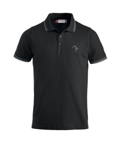 Polo Adulte - Mister Perrier - Black