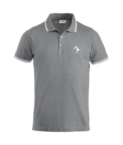 Polo Adulte - Mister Perrier - Heather Grey