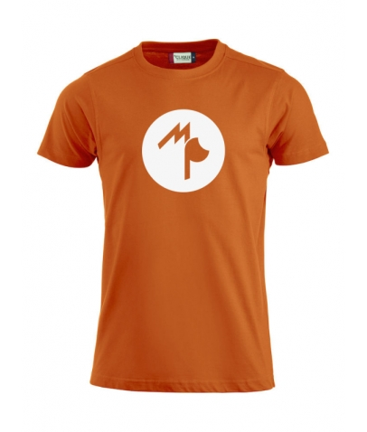 T-Shirt Adulte - Mister Perrier - Orange Sanguine