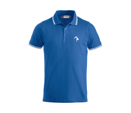 Polo Adulte - Mister Perrier - Royal Blue