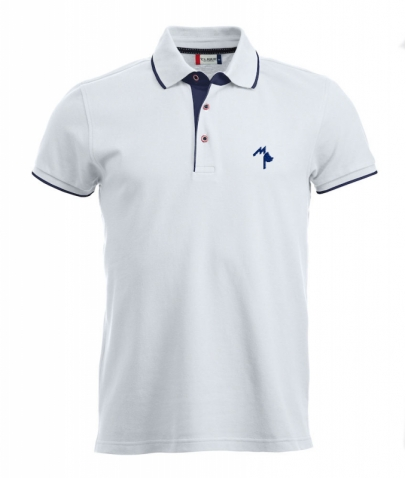 Polo Seattle Adulte - Mister Perrier - White
