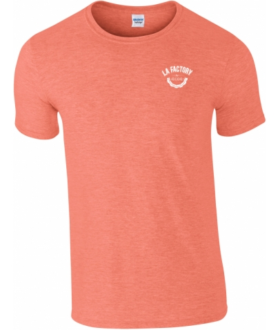 T-SHIRT HOMME SOFTSTYLE - HEATHER ORANGE