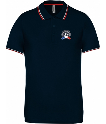 Vespa Polo - Homme - Navy Red White