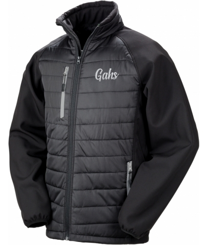VESTE SOFTSHELL - GAHS - BLACK GREY