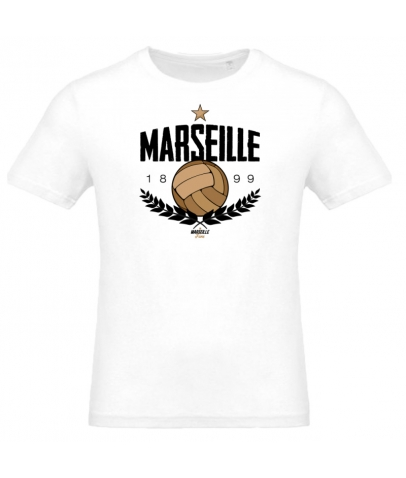 T-Shirt Old School Football - White